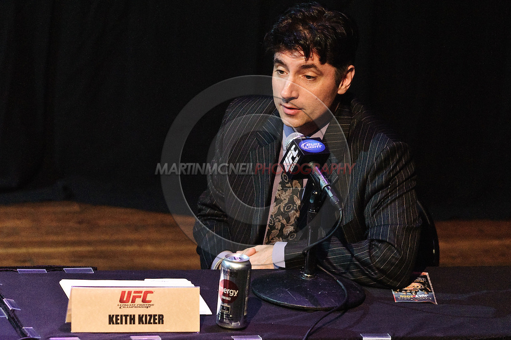 LAS VEGAS, NEVADA, JULY 9, 2009: Nevada State Athletic Commission director Keith Kizer is pictured during the pre-fight press conference for UFC 100 inside the House of Blues in Las Vegas, Nevada