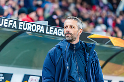 14.03.2019, Red Bull Arena, Salzburg, AUT, UEFA EL, FC Red Bull Salzburg vs SSC Napoli, Achtelfinale, Rückspiel, im Bild Trainer Marco Rose (FC Salzburg) // Trainer Marco Rose (FC Salzburg) during the UEFA Europa League round of 16, 2nd leg match between FC Red Bull Salzburg and SSC Napoli at the Red Bull Arena in Salzburg, Austria on 2019/03/14. EXPA Pictures © 2019, PhotoCredit: EXPA/ Stefan Adelsberger