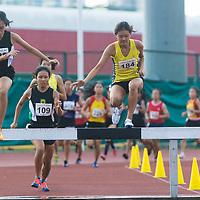 A Div Girls 2000m Steeplechase
