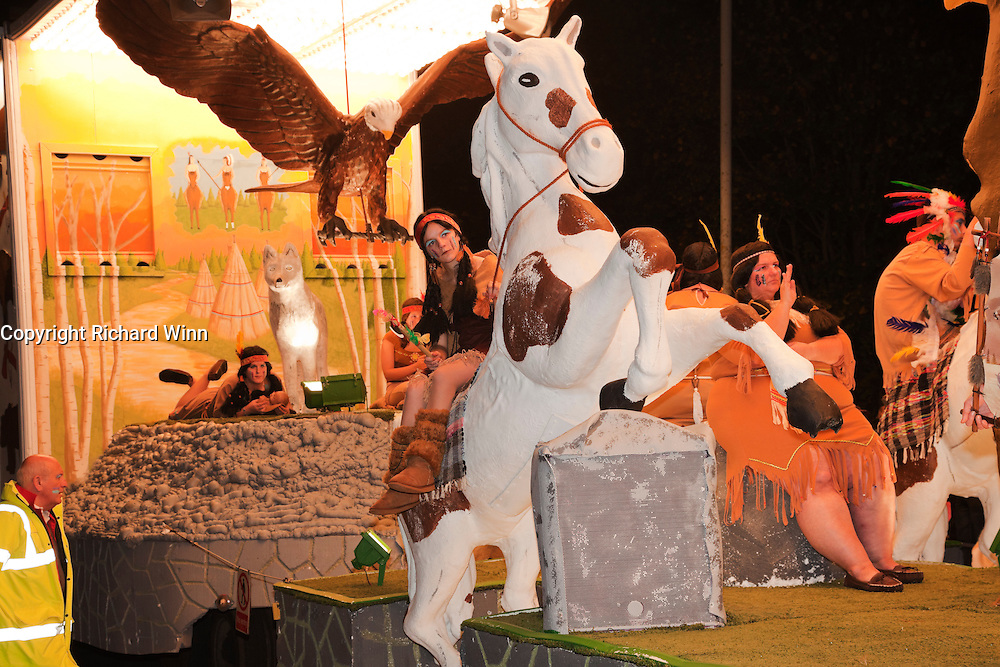 A-Da-Nv-Do-Tsa-Gi (Spirit Dreams) by King William CC at Glastonbury and Chilkwell Guy Fawkes Carnival, 2010.