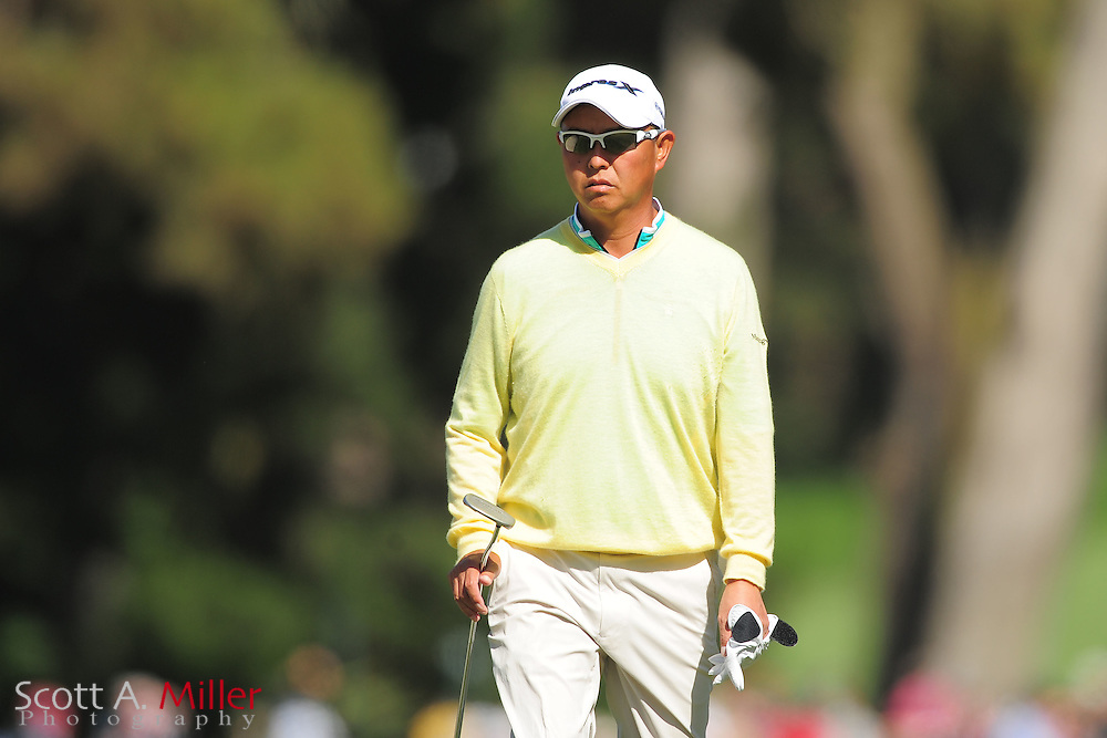 Toru Taniguchi during the second round of the 112th U.S. Open at The Olympic Club on June 15, 2012 in San Fransisco. ..©2012 Scott A. Miller