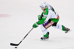 Bostjan Golicic (HDD Tilia Olimpja, #71) during of ice-hockey match between Moser Medical Graz 99ers and HDD Tilia Olimpija in 11th Round of EBEL league, on October 14, 2011 at Eisstadion Graz-Liebenau, Graz, Austria. (Photo By Matic Klansek Velej / Sportida)