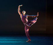 Alvin Ailey American Dance Theater<br /> at <br /> Sadler&rsquo;s Wells London Season and subsequent UK Tour 6 Sept &ndash; 19 Oct 2016<br /> <br /> <br /> Artistic director Robert Battle<br /> <br /> 7th September 2016 <br /> <br /> <br /> Jamar Roberts <br /> rehearsal <br /> <br /> Alvin Ailey American Dance Theater, founded in 1958, is recognised by the U.S. Congress as a vital American &ldquo;Cultural Ambassador to the World.&rdquo;  Under the leadership of Artistic Director Robert Battle, Ailey&rsquo;s performances celebrate the human spirit through the African-American cultural experience and the American modern dance tradition.  In almost six decades, Ailey&rsquo;s artists have performed for over 25 million people in 71 countries on six continents and continue to wow audiences and critics around the world.<br /> <br />  <br /> <br /> Four Corners (UK PREMIERE) Choreographer: Ronald K. Brown / Music: Carl Hancock Rux, Yacoub &amp; Various Artists. Four Corners brings to life the vision of four angels standing on the four corners of the earth holding the four winds. Drawing inspiration from the lyrics of Rux's Lamentations, Four Corners trails 11 dancers as they rise to seek a life of peace on the &ldquo;mountaintop&rdquo;; a powerful and hope-filled journey of tribulation, devotion and triumph.<br /> <br /> <br /> Photograph by Elliott Franks <br /> Image licensed to Elliott Franks Photography Services
