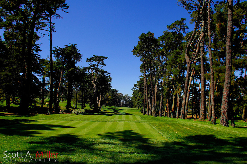 San Francisco -- Aug. 19, 2007 --  Hole No. 12 on the Lake Course at the Olympic Club in San Francisco...©2007 Scott A. Miller
