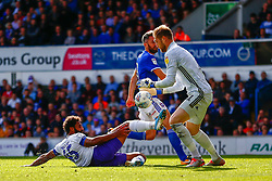 Stefan Payne of Tranmere Rovers Tomas Holy of Ipswich Town - Mandatory by-line: Phil Chaplin/JMP - 28/09/2019 - FOOTBALL - Portman Road - Ipswich, England - Ipswich Town v Tranmere Rovers - Sky Bet Championship