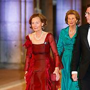 NLD/Amsterdam/20130429- Afscheidsdiner Konining Beatrix Rijksmuseum, ????.