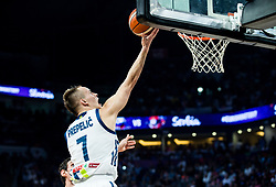 Klemen Prepelic of Slovenia during the Final basketball match between National Teams  Slovenia and Serbia at Day 18 of the FIBA EuroBasket 2017 at Sinan Erdem Dome in Istanbul, Turkey on September 17, 2017. Photo by Vid Ponikvar / Sportida