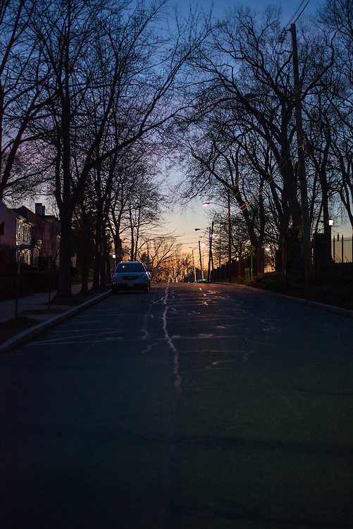 4/17/2016 - Medford/Somerville, MA - The sun sets on Professors Row on Sun Apr 17, 2016. (Ray Bernoff / The Tufts Daily)