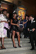 Naomi Campbell, Moet Mirage, Holland Park. 16 September 2007. -DO NOT ARCHIVE-© Copyright Photograph by Dafydd Jones. 248 Clapham Rd. London SW9 0PZ. Tel 0207 820 0771. www.dafjones.com.