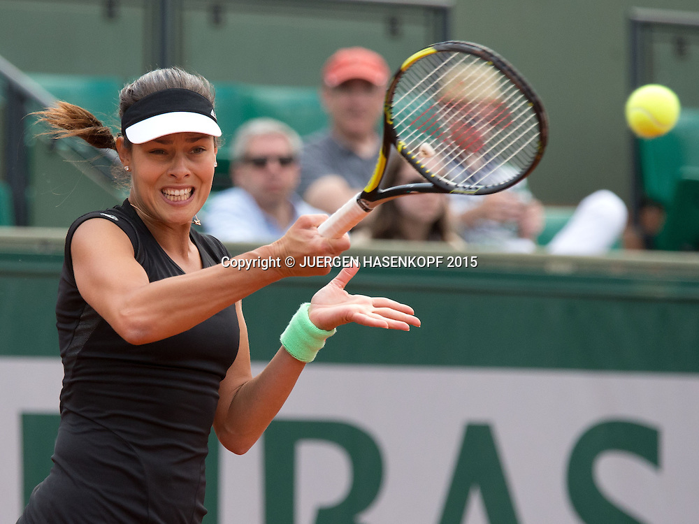 Ana Ivanovic (SRB)<br /> <br /> Tennis - French Open 2015 - Grand Slam ITF / ATP / WTA -  Roland Garros - Paris -  - France  - 24 May 2015.