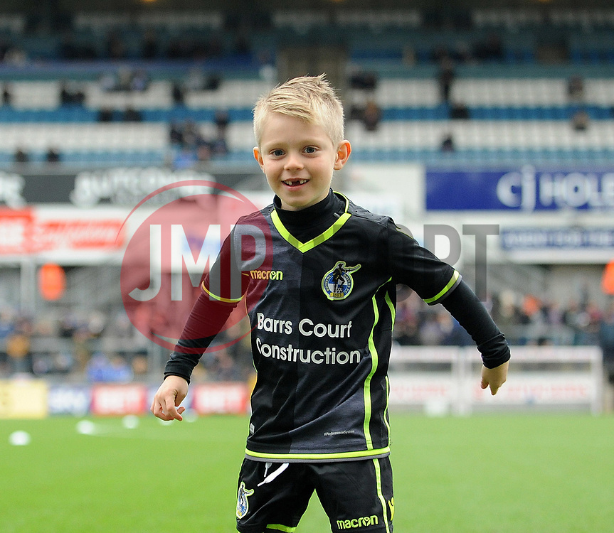 Mascot - Mandatory by-line: Neil Brookman/JMP - 18/11/2017 - FOOTBALL - Memorial Stadium - Bristol, England - Bristol Rovers v AFC Wimbledon - Sky Bet League One
