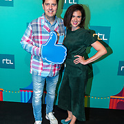 NLD/Halfweg20190829 - Seizoenspresentatie RTL 2019 / 2020, Erwin van der Zande en Anic van Damme