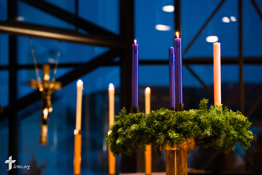 Advent at the International Center, headquarters of The Lutheran Church-Missouri Synod, on Monday, Dec. 9, 2013, in Kirkwood, Mo. Erik M. Lunsford/LCMS Communications