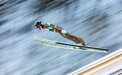 21.02.2016, Salpausselkae Schanze, Lahti, FIN, FIS Weltcup Ski Sprung, Lahti, Herren, im Bild Lukas Hlava (CZE) // Lukas Hlava of Czech Republic competes during Mens FIS Skijumping World Cup of the Lahti Ski Games at the Salpausselkae Hill in Lahti, Finland on 2016/02/21. EXPA Pictures © 2016, PhotoCredit: EXPA/ JFK