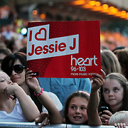 Jessie J Performing at Newmarket Racecourse