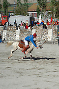 India, Ladakh region state of Jammu and Kashmir, Leh, the Ladakh festival, a polo match. September 2006