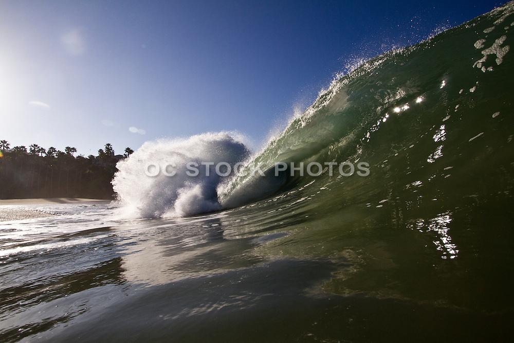 Aliso Creek Beach of Laguna Beach California