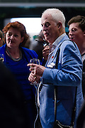 The National party celebrates it's landslide election result at the Viaduct Events Centre, <br /> 2014 New Zealand General Election night.