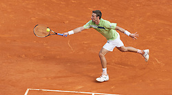 MONTE-CARLO, MONACO - Thursday, April 15, 2010: Juan Carlos Ferrero (ESP) in action during the Men's Singles 3rd Round match on day four of the ATP Masters Series Monte-Carlo at the Monte-Carlo Country Club. (Photo by David Rawcliffe/Propaganda)