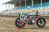 Latus Motors Racing/Triumph AMA FLAT Track Springfield Mile May 2015