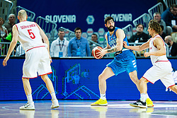 Ziga Dimec of Slovenia during basketball match between National teams of Slovenia and Austria in 2nd Round of the 2021 EuroBasket Qualifiers, on February 23, 2020 in Arena Bonifika, Koper / Capodistria, Slovenia. Photo By Grega Valancic / Sportida