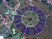 Aerial View Of Botanic Garden