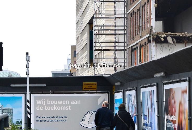 Nederland, Nijmegen, 23-12-2016 In fasen wordt het UMC radboud, Radboudumc, ziekenhuis vernieuwd.Foto: Flip Franssen