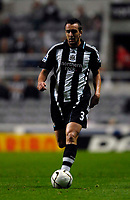 Photo: Jed Wee/Sportsbeat Images.<br /> Newcastle United v Barnsley. Carling Cup. 29/08/2007.<br /> <br /> Newcastle's new signing Jose Enrique.