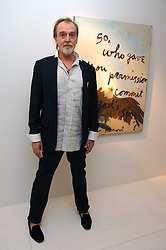 Artist RENE RICARD at an exhibition of paintings by artist Rene Richard at the Scream Gallery, Bruton Street, London on 3rd April 2008.<br />