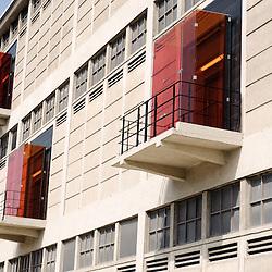 Docks 76, nouveau centre commercial construit par Unibail. Architecte : Wilmotte et associes. Rouen, France. 3 juin 2009. Photo : Antoine Doyen