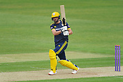 James Vince of Hampshire batting during the Royal London One Day Cup match between Hampshire County Cricket Club and Middlesex County Cricket Club at the Ageas Bowl, Southampton, United Kingdom on 23 April 2019.