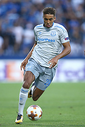 September 14, 2017 - Reggio Emilia, Italy - Dominic Calvert-Lewin of Everton during the UEFA Europa League group E match between Atalanta and Everton FC at Stadio Citta del Tricolore on September 14, 2017 in Reggio nell'Emilia, Italy. (Credit Image: © Matteo Ciambelli/NurPhoto via ZUMA Press)