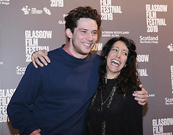 Glasgow Film Festival 2019<br /> <br /> The Scottish Premiere of Only You<br /> <br /> Pictured: Josh O'Connor and Harry Wootliff<br /> <br /> (c) Aimee Todd | Edinburgh Elite media