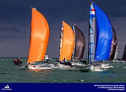 From 27 January to 3 February 2019, Miami will host sailors for the second round of the 2019 Hempel World Cup Series in Coconut Grove. More than 650 sailors from 60 nations will race across the 10 Olympic Events. ©JESUS RENEDO/SAILING ENERGY/WORLD SAILING<br /> 31 January, 2019.