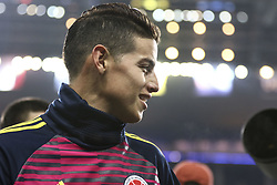 March 23, 2018 - Saint-Denis, Ile-de-France, France - James Rodriguez 10; during the friendly football match between France and Colombia at the Stade de France, in Saint-Denis, on the outskirts of Paris, on March 23, 2018. (Credit Image: © Elyxandro Cegarra/NurPhoto via ZUMA Press)