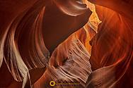 Upper Antelope Canyon near Page, Arizona, USA