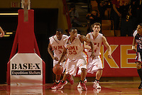 TOPS IN NCAA DIVISION I -- Junior forward Reggie Williams, ranked #1 in the nation in scoring with 28.7 points per game, leads Virginia Military Institute's revved-up offense, also ranked #1 nationally with 103 points per game.