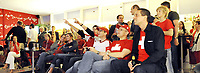 GEPA-1106087353 - WIEN,AUSTRIA,11.JUN.08 - FUSSBALL - UEFA Europameisterschaft, EURO 2008, Public Viewing Plaetze, Strandbar Herrmann am Wiener Donaukanal, Swiss Beach. Bild zeigt Fans im VIP Bereich.<br />Foto: GEPA pictures/ Reinhard Mueller