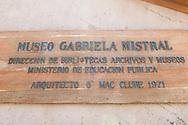 Gabriella Mistral museum, Vicuña, Chile