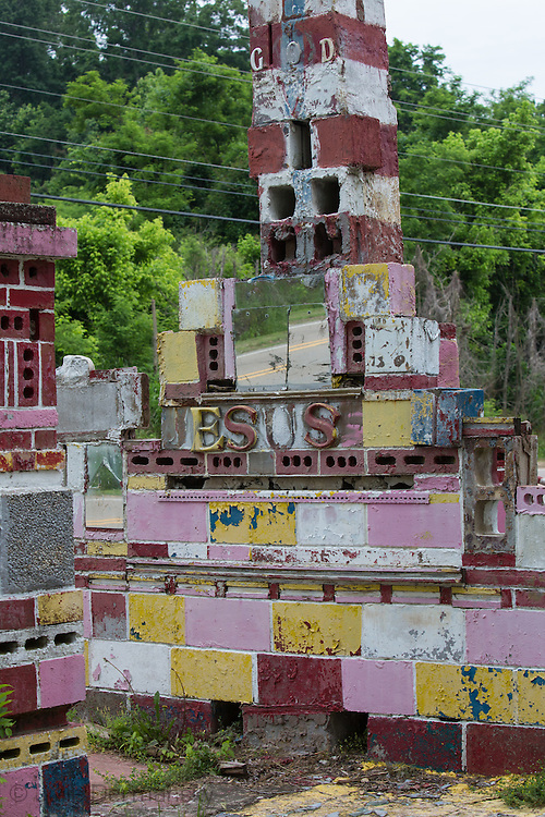 Margaret's Grocery and Market in Vicksburg, MS , a folk art environment that is in a state of disrepair.