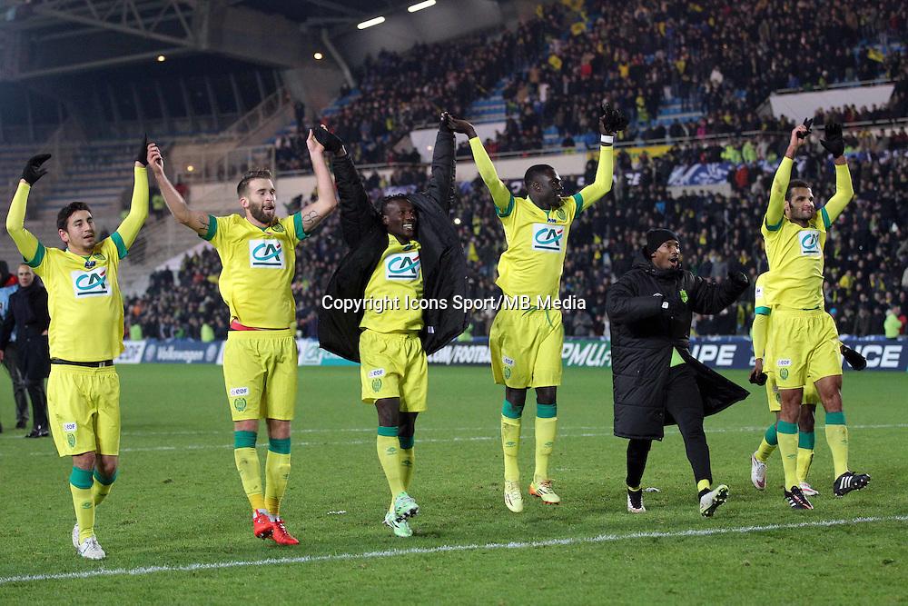 Joie Nantes  - 20.01.2015 - Nantes / Lyon  - Coupe de France 2014/2015<br /> Photo : Vincent Michel / Icon Sport
