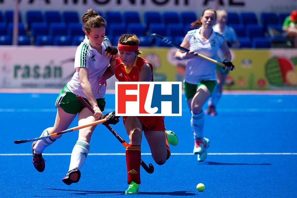 RIO 2016 Olympic qualification, Hockey, Women, quarterfinal, Ireland vs China : Aine Connery