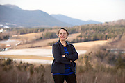 Annette Smith,  Executive Director of  Vermonters for a Clean Environment, in Danby, Vermont, is Vermonter of the Year. (Caleb Kenna for the free Press)