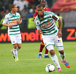 17.07.2012, Gerhard Hanappi Stadion, Wien, AUT, Testspiel, SK Rapid Wien vs AS Roma, im Bild Terrence Boyd, (SK Rapid Wien, #9) // during Test Match, between SK Rapid Vienna and AS Roma at the Gerhard Hanappi Stadion, Vienna, Austria on 2012/07/17. EXPA Pictures © 2012, PhotoCredit: EXPA/ Thomas Haumer