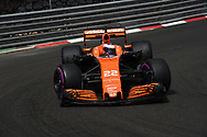 Jenson Button of McLaren Honda during the practice session for the 2017 Monaco Formula One Grand Prix at the Circuit de Monaco, Monte Carlo<br /> Picture by EXPA Pictures/Focus Images Ltd 07814482222<br /> 25/05/2017<br /> *** UK &amp; IRELAND ONLY ***<br /> <br /> EXPA-EIB-170525-0146.jpg