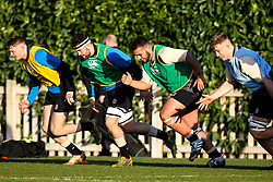 Alfie Petch and Kai Owen of England Under 20s - Mandatory by-line: Robbie Stephenson/JMP - 08/01/2019 - RUGBY - Bisham Abbey National Sports Centre - Bisham Village, England - England Under 20s v  - England Under 20s Training
