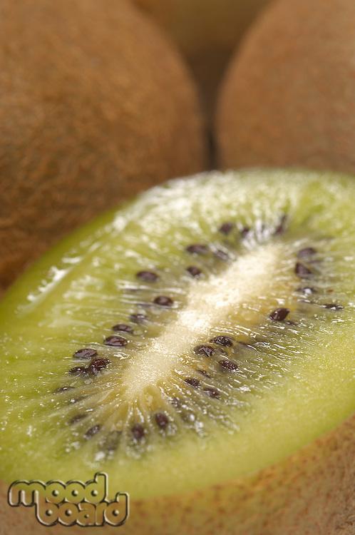 Kiwi fruit, close-up