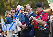 Princess Charlotte, Prince George With Kate & William At Party