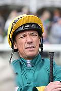Jockey Frankie Dettori at the York Dante Meeting at York Racecourse, York, United Kingdom on 17 May 2018. Picture by Mick Atkins.