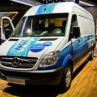 Mercedes Printer NGT EEV at the IAA 2012 in Hanover, Germany